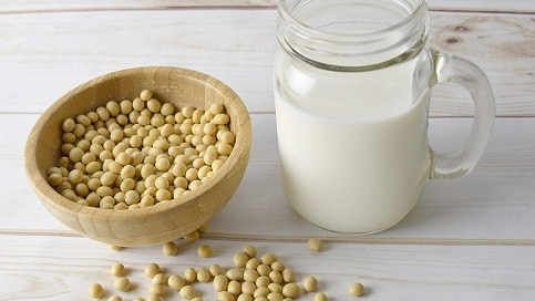 soy milk for breast enlargement