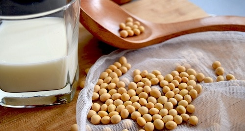 soy to increase breast size